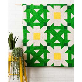 GO! Qube 10 Daisy Patch Quilt Pattern