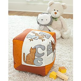 GO! Qube 12 Alphabet Pillow Pattern