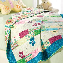 GO! Bursting Into Bloom Free Quilt Pattern