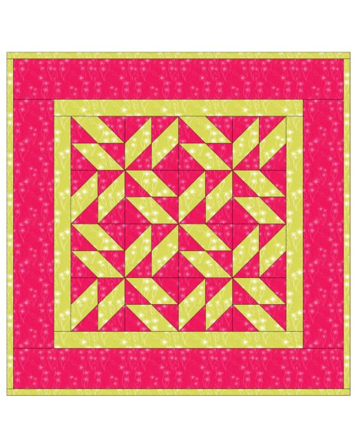 GO! Parallelogram Pizzazz Pattern |AccuQuilt| : parallelogram quilt pattern - Adamdwight.com