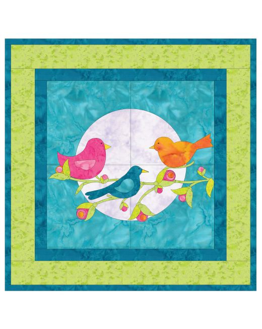 Go Night Song Wall Hanging Accuquilt