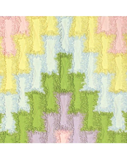 Bargello Rag Quilt Pattern for GO! and Studio