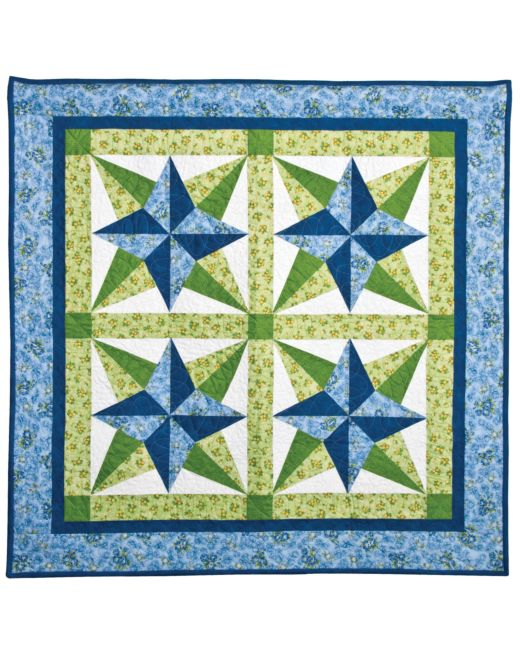 Plastic quilt template Blazing Star