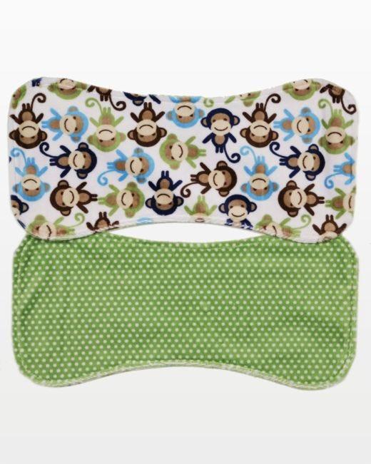 Studio Reversible Baby Burp Cloth Pattern Accuquilt Mesmerizing Burp Cloth Pattern