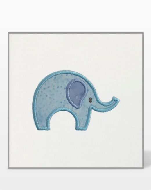 Free Elephants Embroidery Design | accuquilt com
