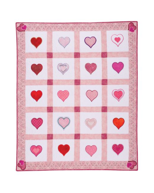 GO Heart To Heart Quilt Pattern AccuQuilt Cool Heart Quilt Pattern