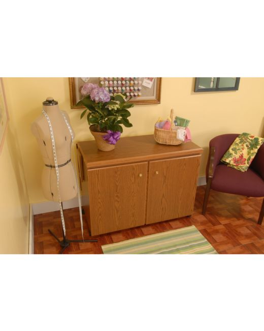 Arrow Bertha Sewing Cabinet Oak AccuQuilt New Bertha Sewing Machine Cabinet