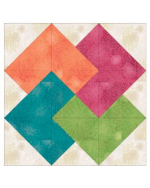 Block 10 Card Trick Pattern Download Accuquilt