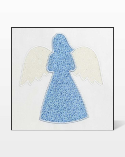 Fabric Cutting Die Angel Wings Quilting Sewing 55418 Accuquilt GO