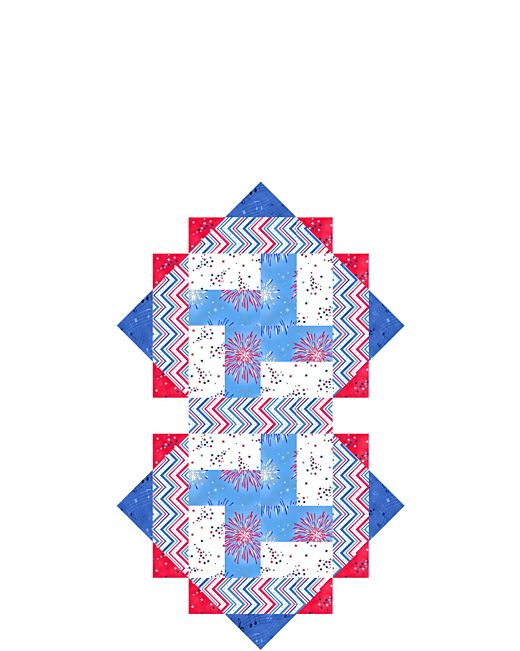 A Nations Song Wall Hangingtable Topper Pattern Accuquilt