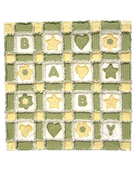 BABY Rag Quilt Pattern for GO! and Studio |AccuQuilt| : rag quilting patterns - Adamdwight.com