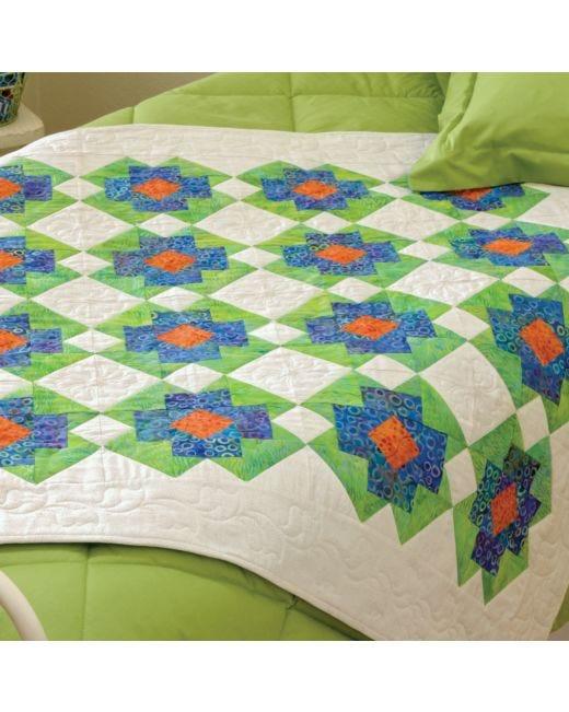 Go Garden Party Quilt Pattern Accuquilt