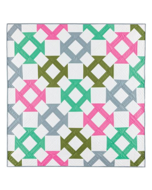 Baby Quilt Blocks.Go Churn Dash Baby Quilt Pattern Accuquilt