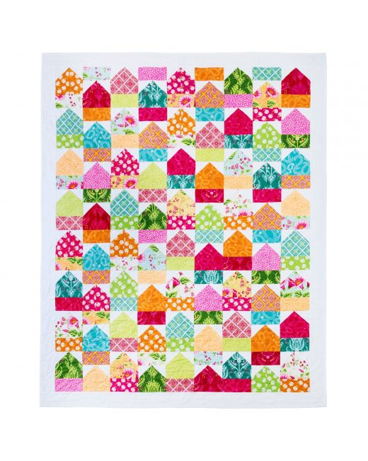 "GO! Qube 8"" Fun Neighborhood Quilt (PQ11082)"
