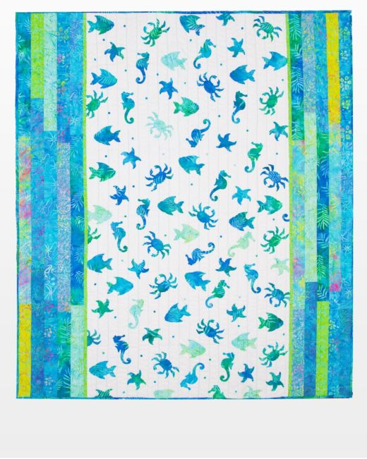AccuQuilt GO! Free Download Sea Dreams Quilt Pattern