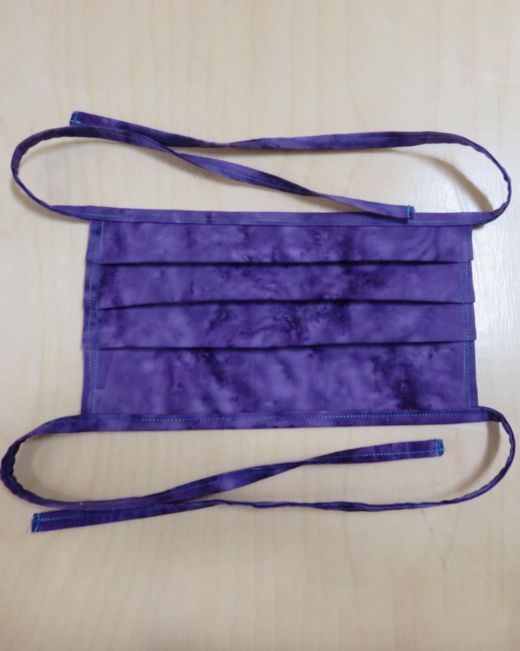 GO! Face Mask with Fabric Strip Ties Pattern Download the Free pattern