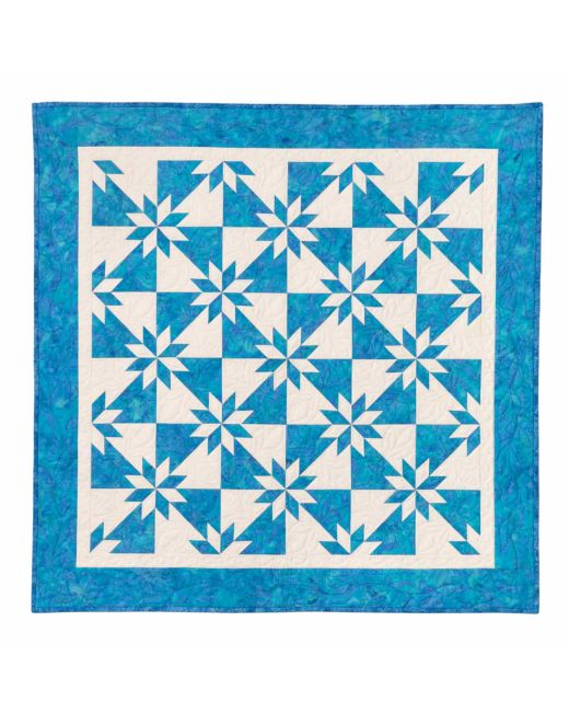 Quilt In A Day Hunters Star By Eleanor Burns Accuquilt
