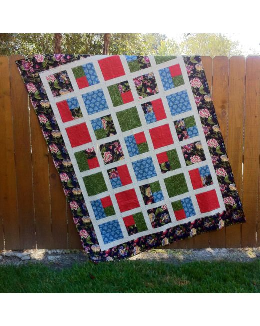 Take 40 Deserves An Even Break Quilt Pattern AccuQuilt Inspiration Take 5 Quilt Pattern