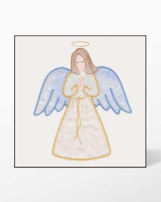 Go Angel Single 1 By V Stitch Designs Accuquiltcom