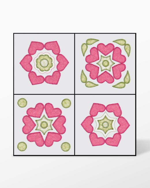 Go Quilt Blocks 1 Embroidery Designs By V Stitch Designs