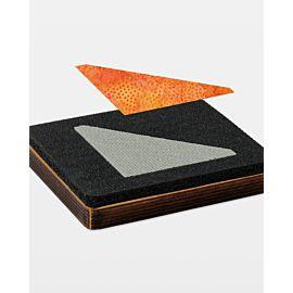 """Studio Half Square-3"""" Finished Triangle (Quilt Block E)"""
