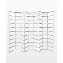 "Wire Storage Rack (50830)- Holds 30, AccuQuilt Studio 5"" x 6"" die boards (i.e., Mini-, Small-, or Large-sized Studio dies)."