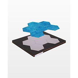 "Studio Hexagon-3"" Sides (2 11/16"" Finished)"