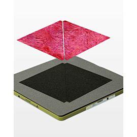 """GO! Half Square Triangle-6"""" Finished Square (55001)"""
