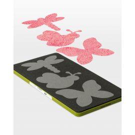 Go Butterfly Garden Quilt Pattern Accuquilt