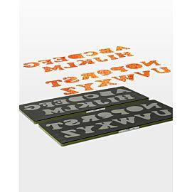 GO! Carefree Alphabet Set (2-Die Set) - pkg