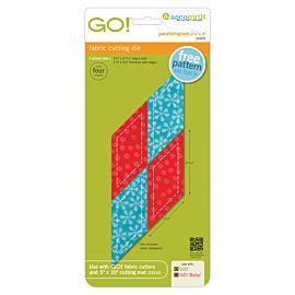 """GO!® Parallelogram-2 1/4"""" x 2"""" (55402)"""