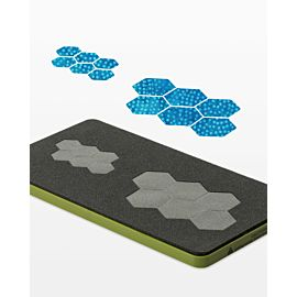 "GO! Paper Piecing Hexagon-1/2"" Finished Sides (55420) - Package shown (front)"