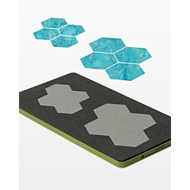 "GO! Paper Piecing Hexagon-1"" Finished Sides (55422)"