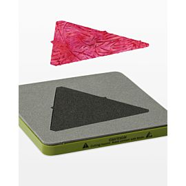 """GO! Equilateral Triangle-4 1/2"""" Sides (4 1/4"""" Finished) (55429)"""
