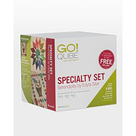 GO! Qube Specialty Set-Serendipity by Edyta Sitar