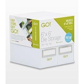 """GO! 6"""" x 6"""" Die Storage (55850)"""