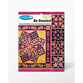 Be Dazzled Embroidery Design CD for GO! by Sarah Vedeler