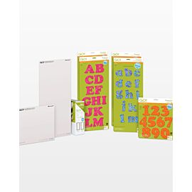 GO! Carefree Alphabet & Numbers Die Bundle