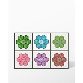 GO! Grandmother's Flower Garden Machine Embroidery Set by Marjorie Busby (BQ-GFGe)