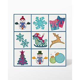 GO! Holiday Elements Machine Embroidery Set by Marjorie Busby