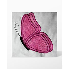 GO! Single Butterfly Embroidery Designs by Linda Horne (LH-SBUe)