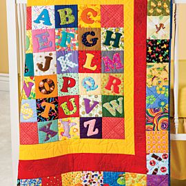 GO! Alphabet Soup Quilt Pattern (PQ141359-9)