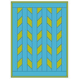 GO! Wavy Quilt Pattern
