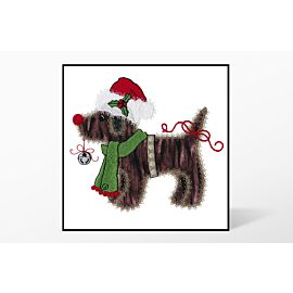GO! Christmas Gingham Dog Embroidery Designs by V-Stitch Designs (VQ-CGD)