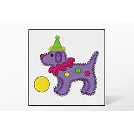 GO! Gingham Dog Single #4 Embroidery Designs by V-Stitch Designs