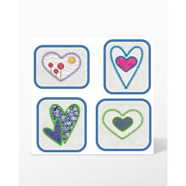 GO! Queen of Hearts Embroidery Designs by V-Stitch Designs