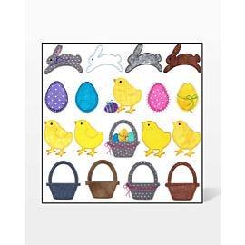 GO! Spring Medley Set Embroidery Designs by V-Stitch Designs