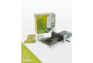 GO! Fabric Cutter Starter Set (55100S) - Shows everything that comes in the set.
