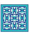 Studio Cool Blue Star Wall Hanging Pattern- Free (PQ10232i)