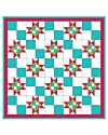 Studio 4-Patch Stars Wall Hanging Pattern (PQ10234i)